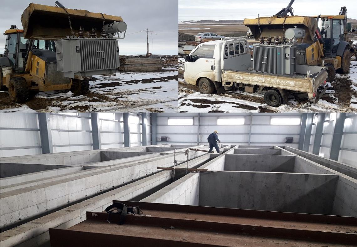 Municipio inició la obra de electrificación de la nueva planta potabilizadora