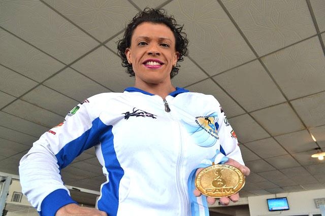 Carina Espinoza se consagró campeona argentina en Buenos Aires