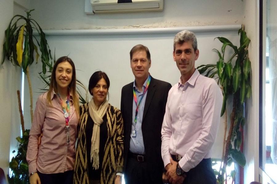 El Ministro de Salud se reunió con referentes de la Fundación Garrahan
