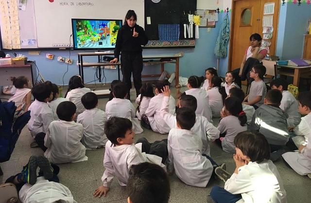 Escuela 8: Brindaron charlas de educación vial a más de 500 chicos