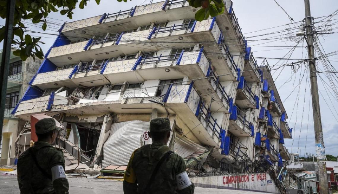 Otro terremoto sacudió la capital de México, esta vez, desvastador