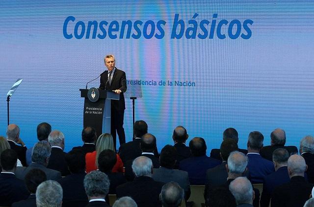 Macri anunció un paquete de reformas laborales, previsionales e impositivas