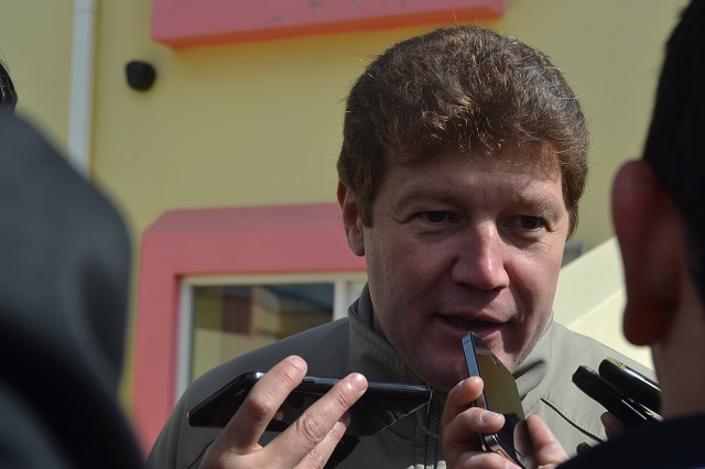 Gustavo Melella también se sumó al respaldo de la industria fueguina
