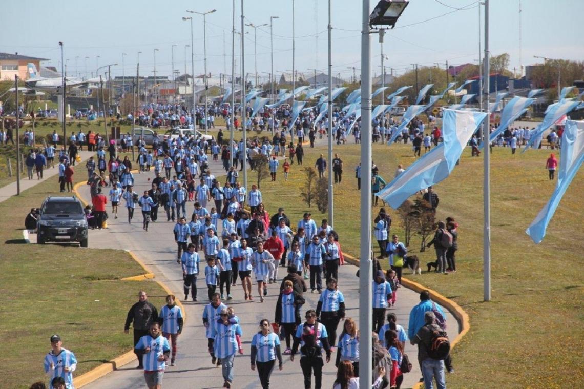 Una multitud corrió nuevamente por Malvinas y por el Diálogo Bilateral