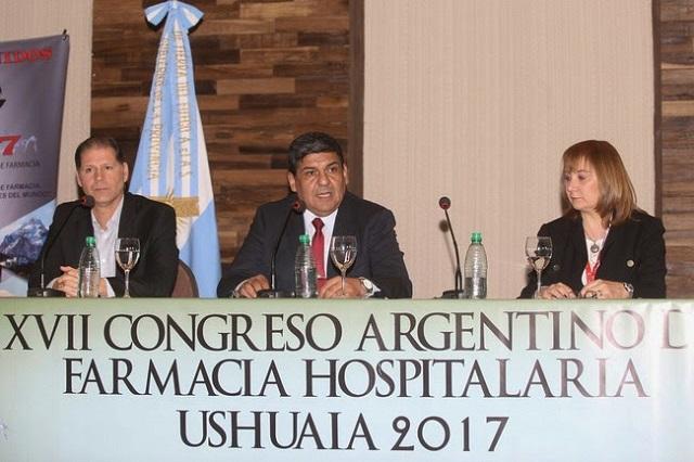 Arcando presidió acto inaugural del XVII Congreso Argentino de Farmacia Hospitalaria