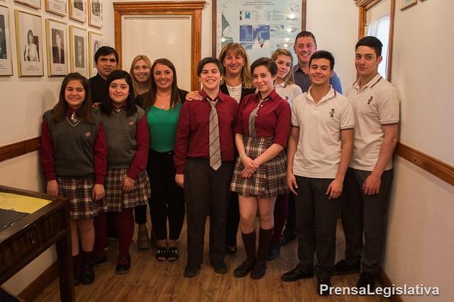 Destacaron proyectos de ciencias y viaje de estudiantes a Malvinas