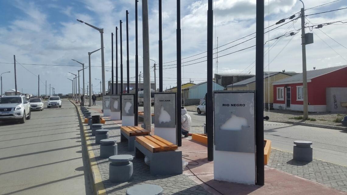 El Paseo de las Provincianías, quedará inaugurado este domingo