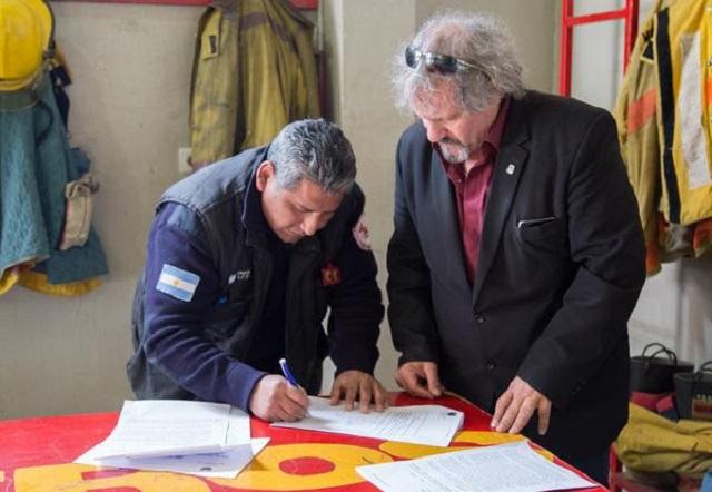 Gobierno decidió suspender a la Asociación de Bomberos Zona Norte