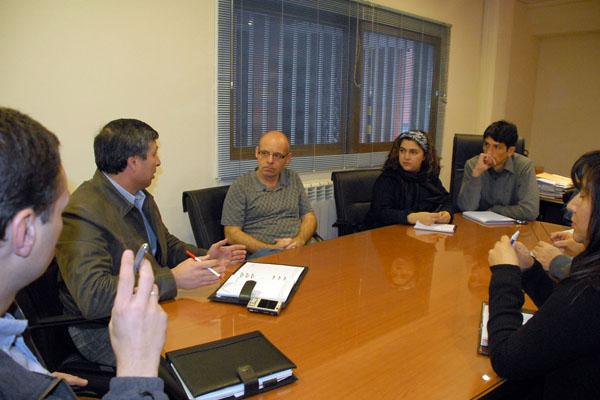 La reunión con fuezas de seguridad se llevó a cabo en Ushuaia.