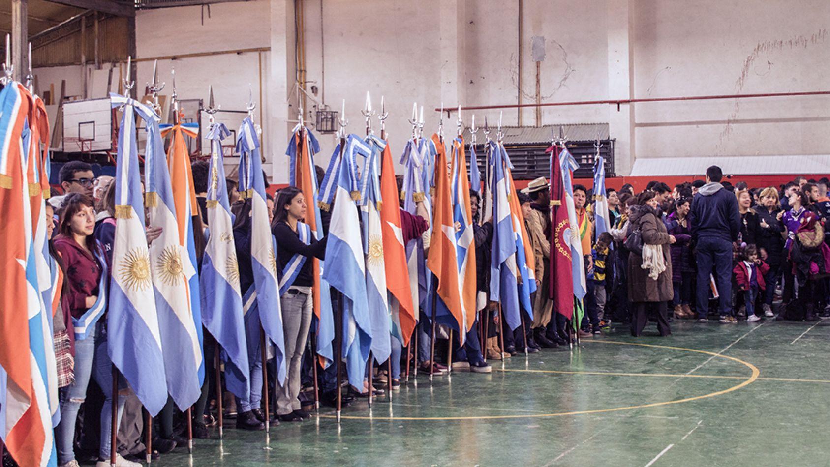 Acto central por el aniversario de la provincia.