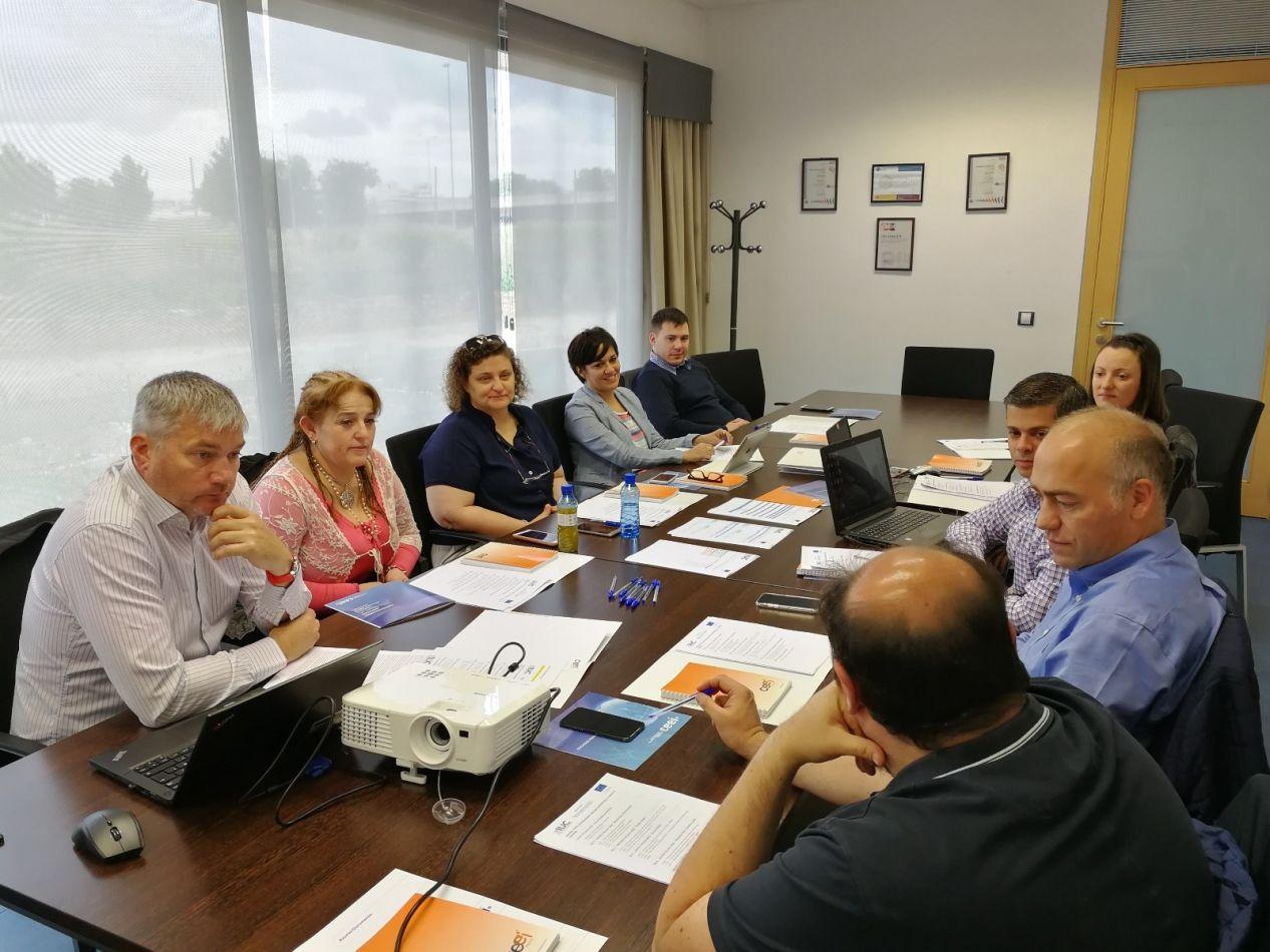 Delegación de nuestra ciudad inició reuniones con autoridades de la Ciudad de Albacete España