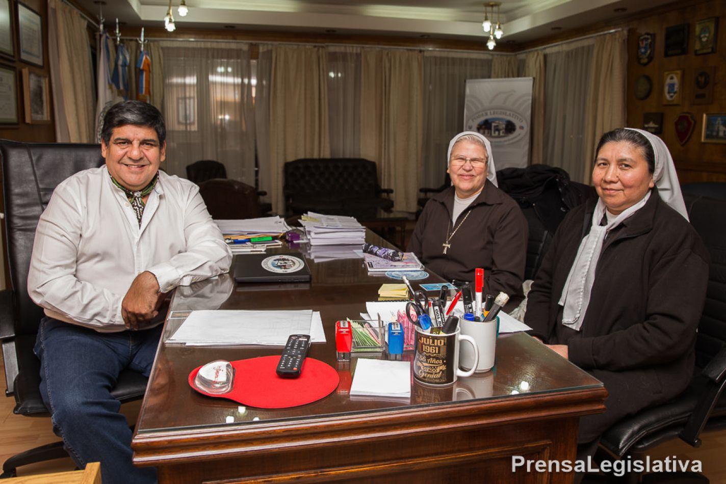 Arcando recibió a las hermanas Clarisas Franciscanas de Ushuaia