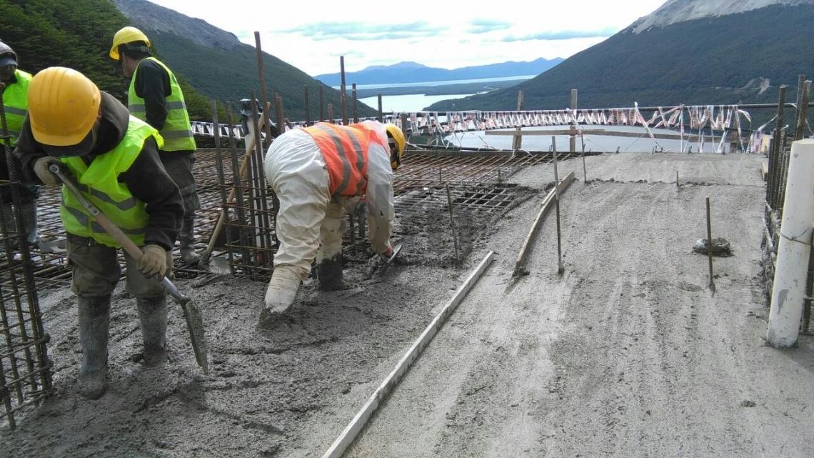 Remodelación: Avanzan los trabajos en el mirador del paso Garibaldi