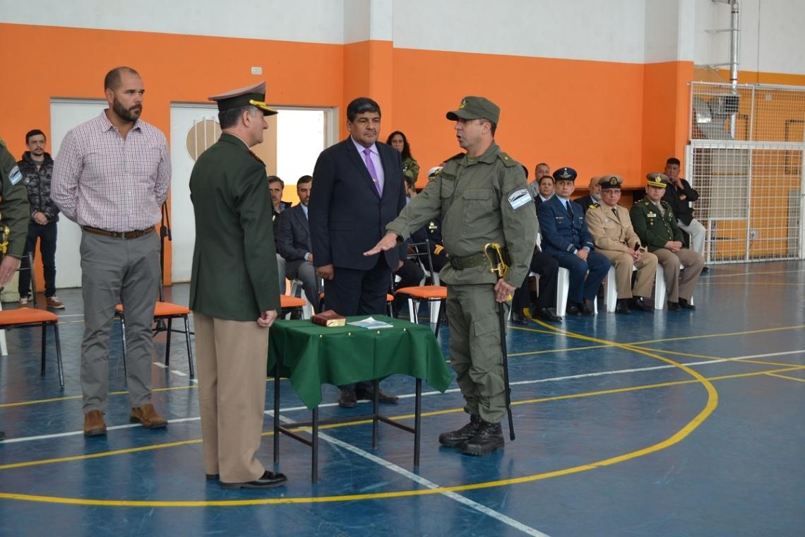 Gendarmería: Se realizó el acto por el cambio de jefatura del Escuadrón 62 de Río Grande