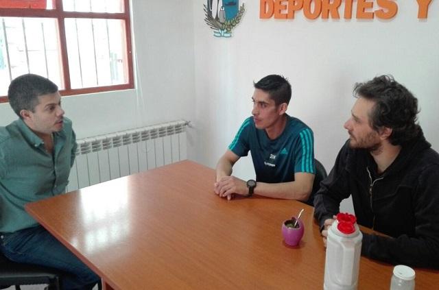Pablo Ernaga participará de la maratón en las Islas Malvinas