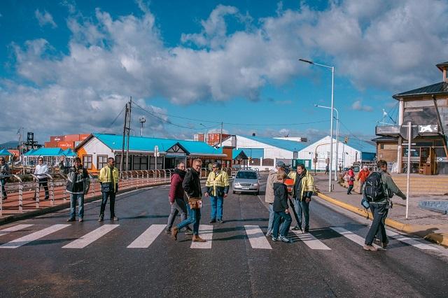 Más obras en la zona de acceso al puerto de Ushuaia