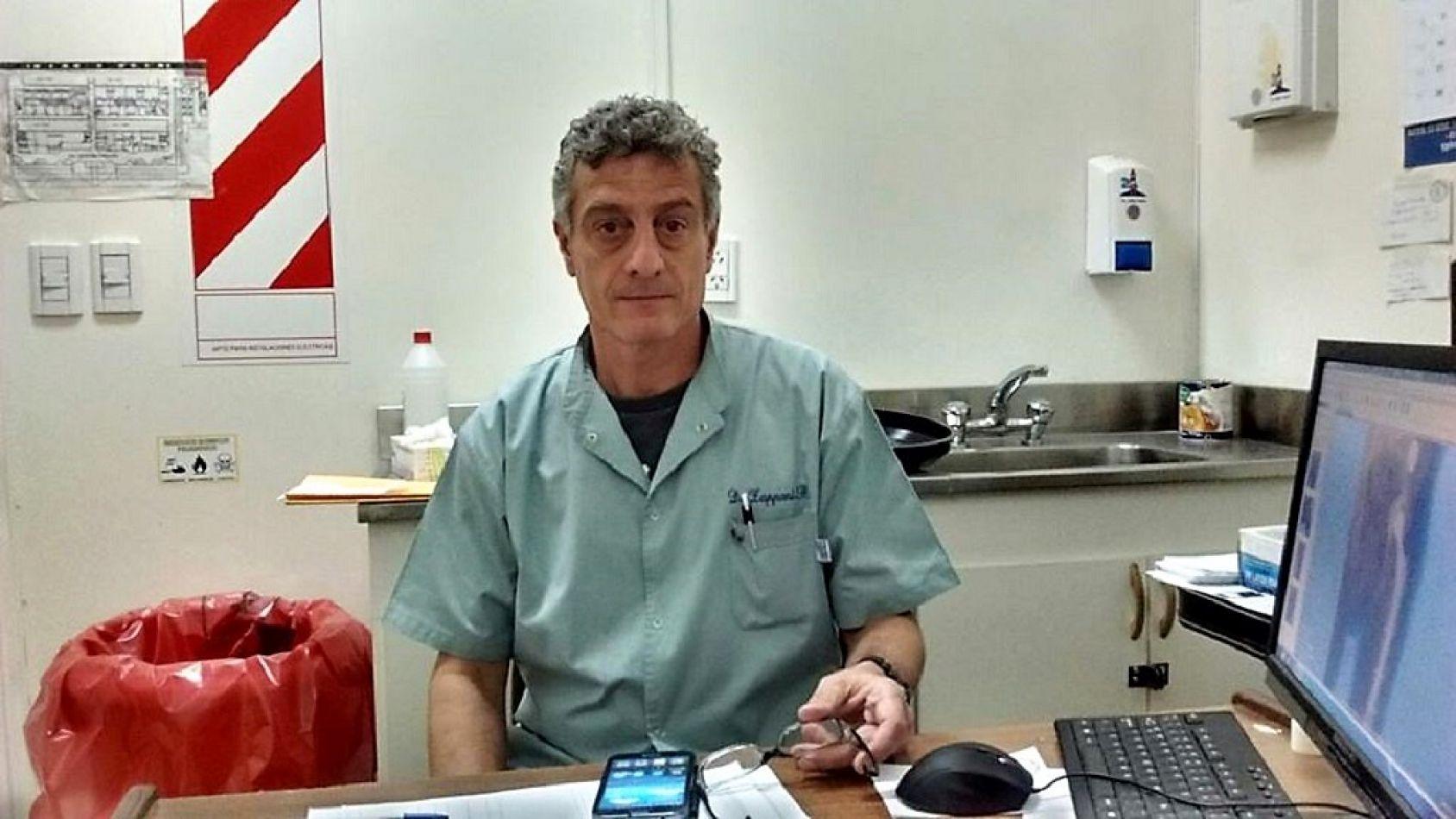 Dr. Rubén Zaponni, presidente del Si.Pro.Sa.