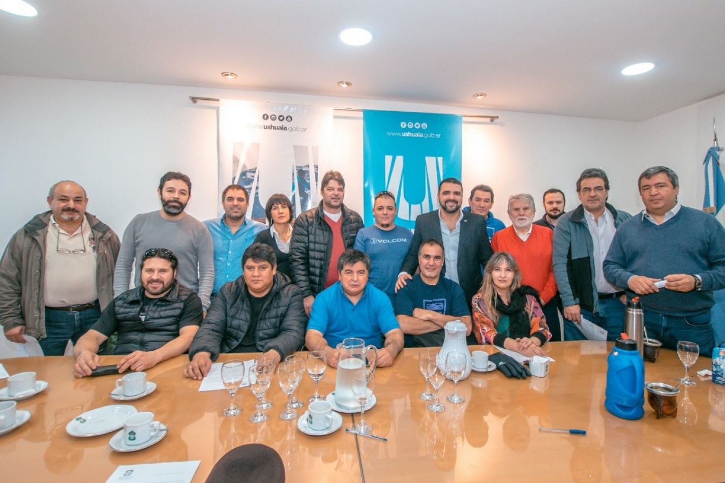 Gremios de Ushuaia firmaron un 15% de aumento salarial
