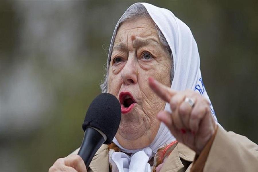 """Bonafini: """"No quiero que Macri se vaya, quiero que se caiga a pedazos"""""""