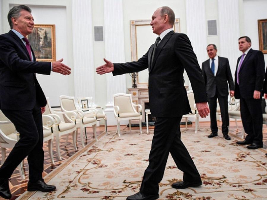 Macri y Putin sellaron una agenda de cooperación bilateral
