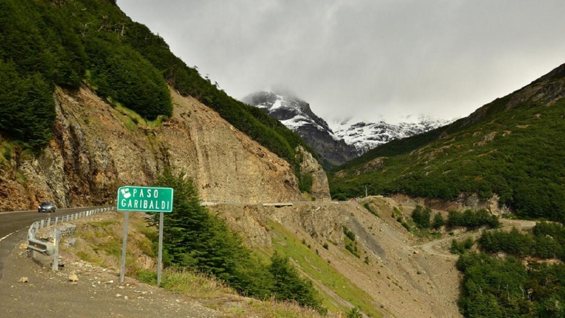 Paso Garibaldi: Desde el lunes 29, restringirán la circulación