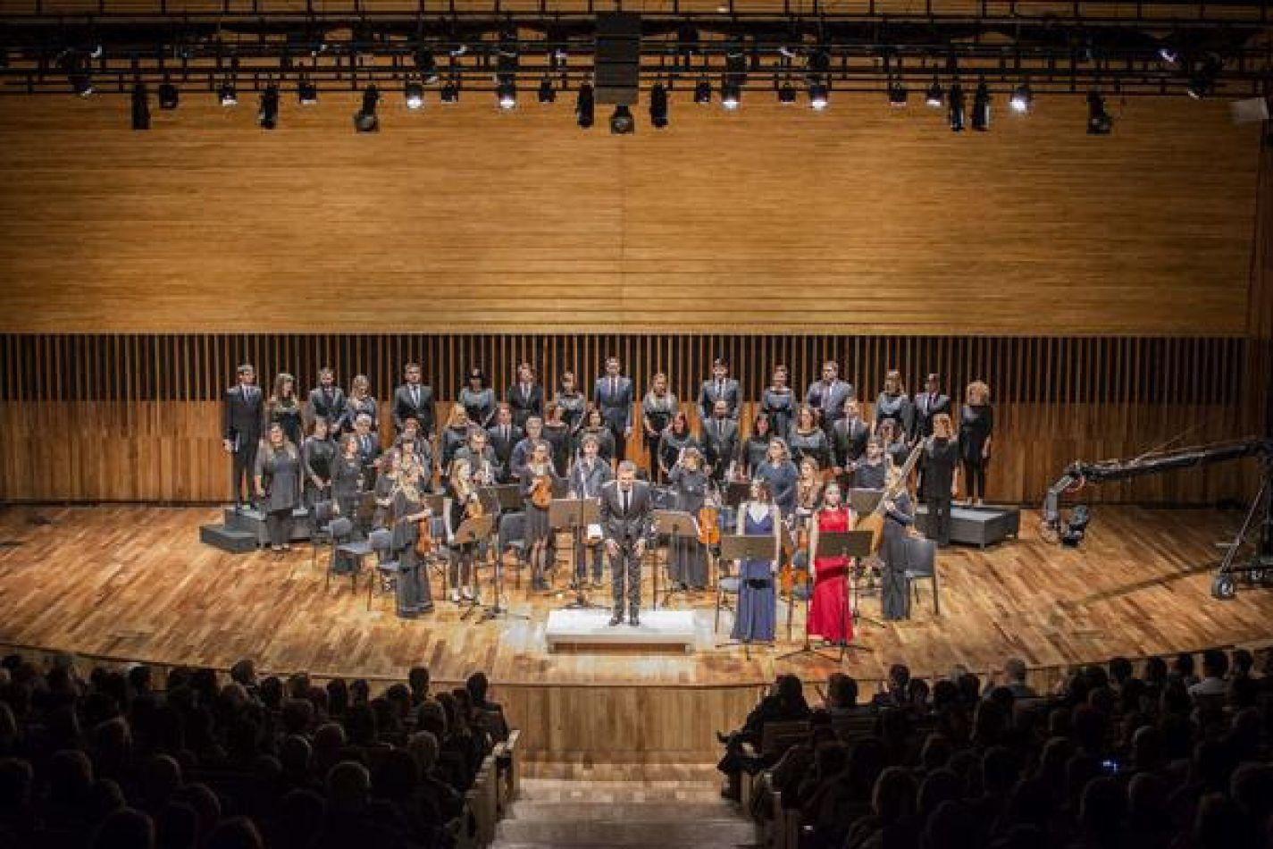 El Coro del Fín del Mundo en el Centro Cultural Néstor Kirchner  en Capital Federal.