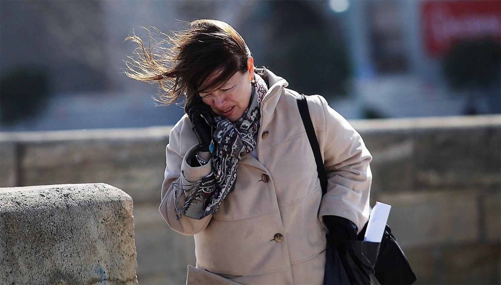 Anuncian fuertes vientos para Tierra del Fuego.