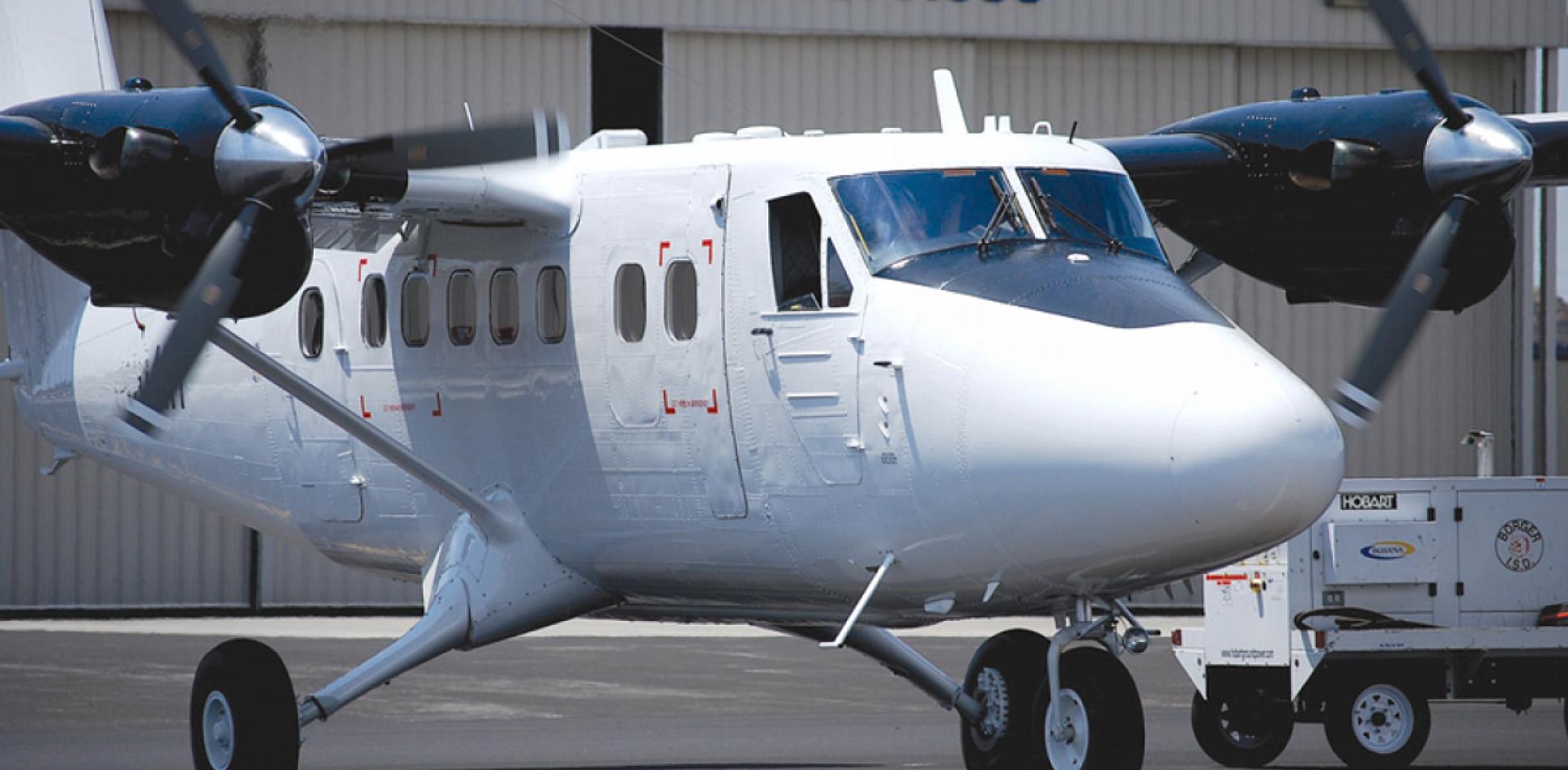 La Fuerza Aérea utilizará aviones Twin Otter.