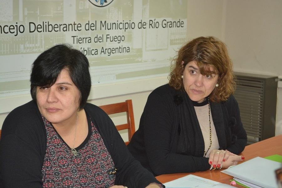 Las Concejales González y Mora de la ciudad de Río Grande expresan que: