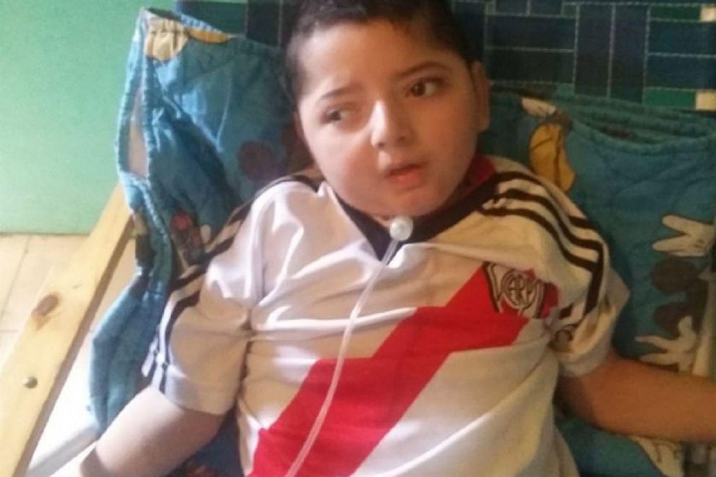 Valentino Ladislao, pequeño de cinco años que falleció por falta de suministro eléctrico