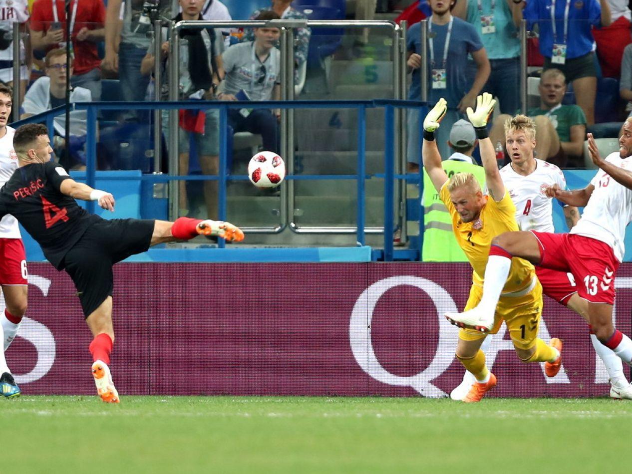 Croacia pasa a cuartos de final del Mundial de Rusia 2018.