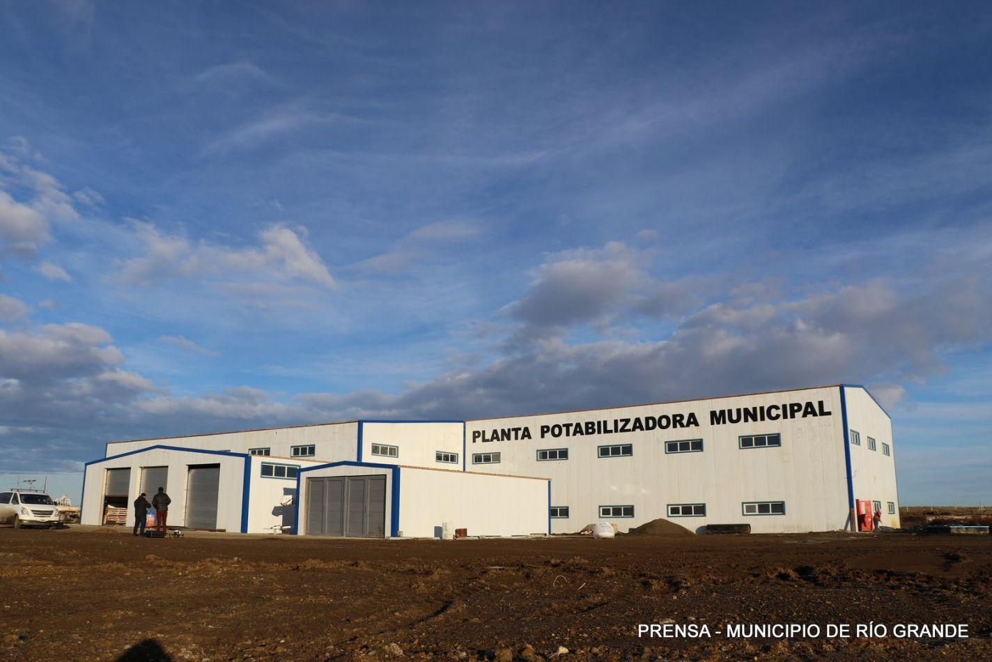 Planta Potabilizadora de Río Grande