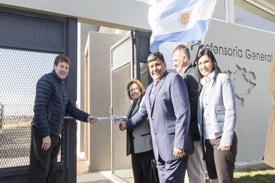 Inauguraron el nuevo edificio de la Defensoría General de la Nación