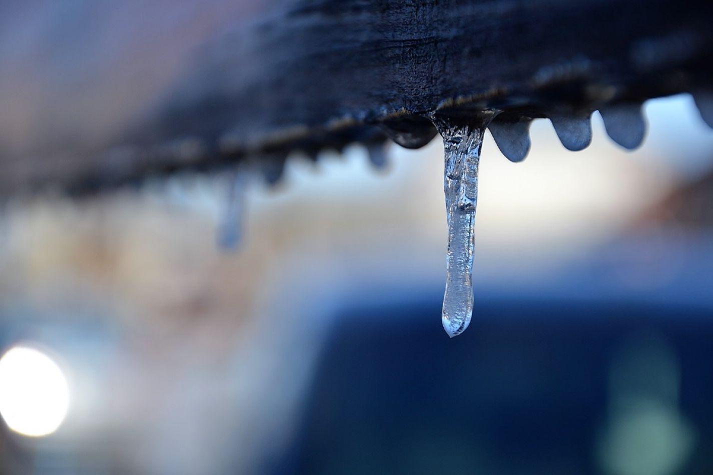 El frío generó complicaciones en Tierra del Fuego.