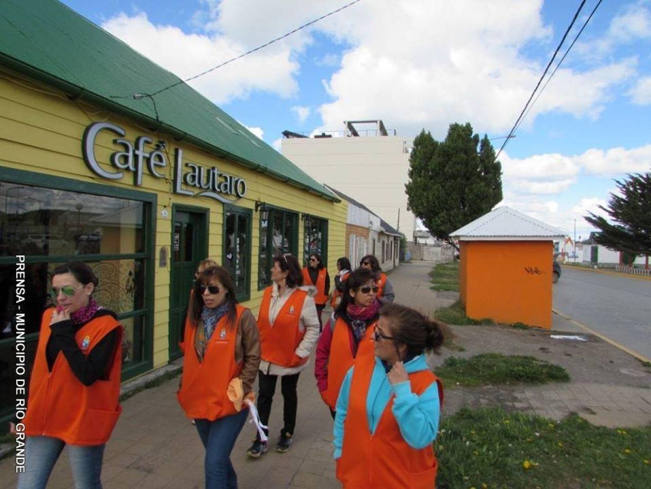 Recorrida a lugaares emblemáticos de la ciudad de Río Grande