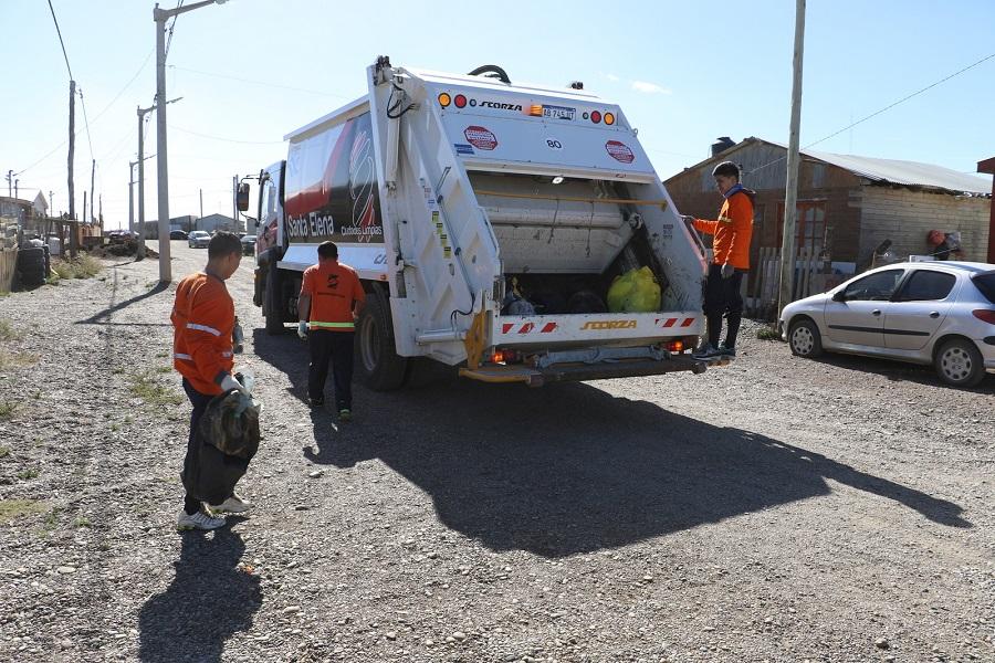 Se lleva adelante un nuevo esquema de recolección de residuos domiciliarios en la ciudad