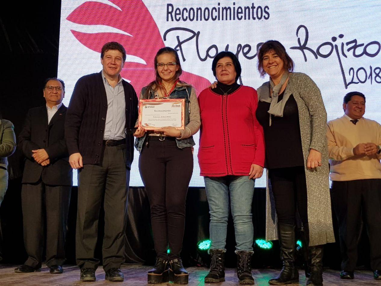 Entrega de premios Playero Rojizo