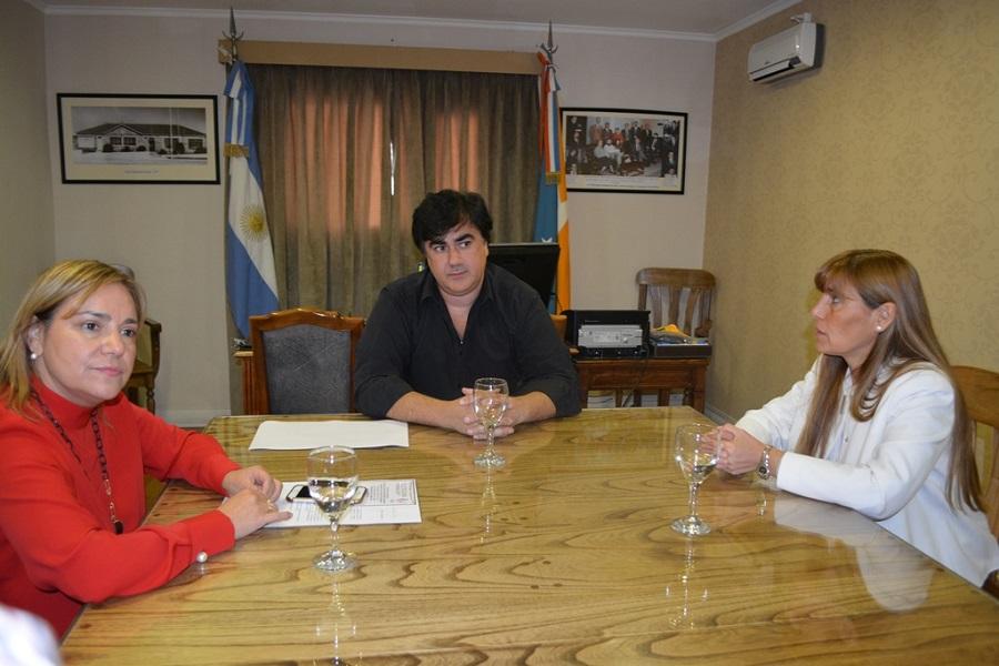 El Concejal Nogar recibió a la senadora Boyadjian