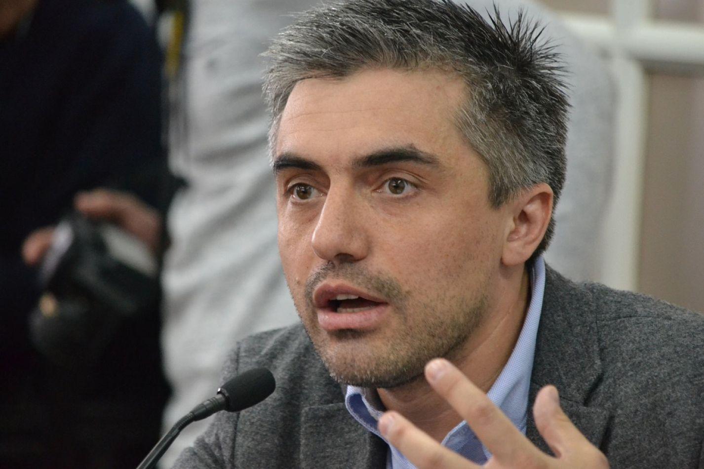 Paulino Rossi manifestó su satisfacción por lo aprobado en la Legislatura.