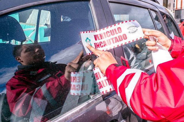 Ushuaia: Autoridades municipales detectaron otro remis trucho
