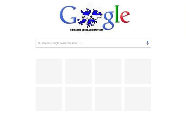 Google rechazó homenajer a los argentinos caídos en Malvinas