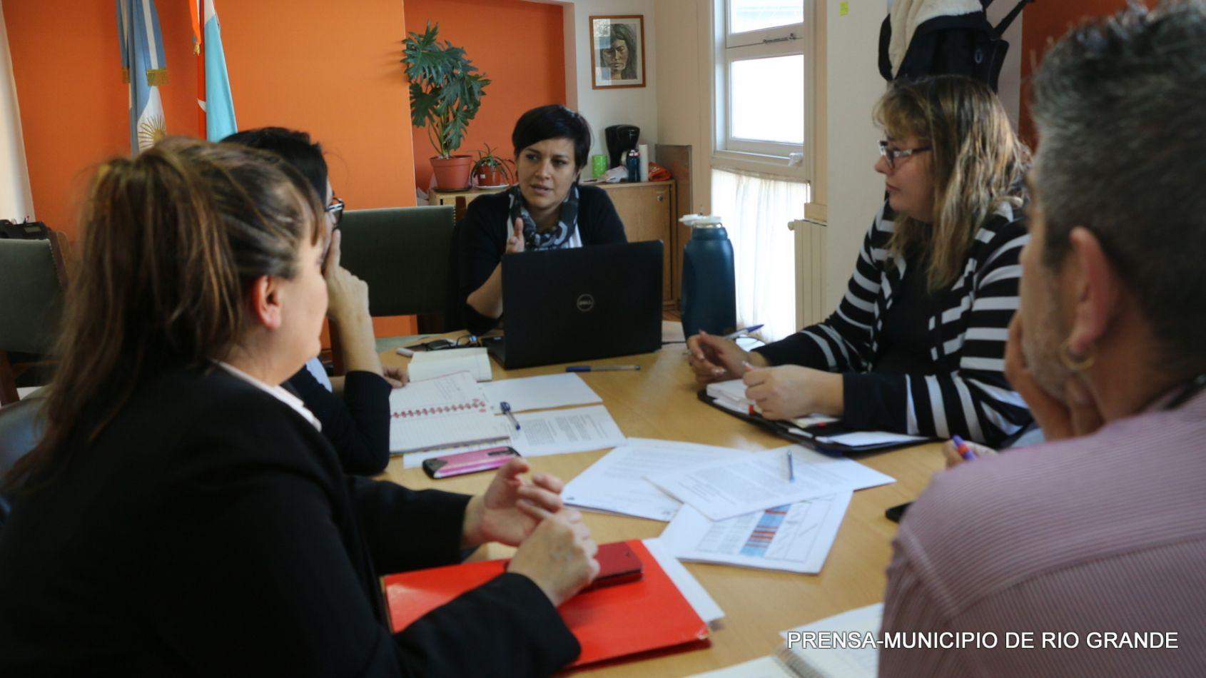 Analía Cubino, resaltó el trabajo que lleva adelante en  Municipio de Río Grande