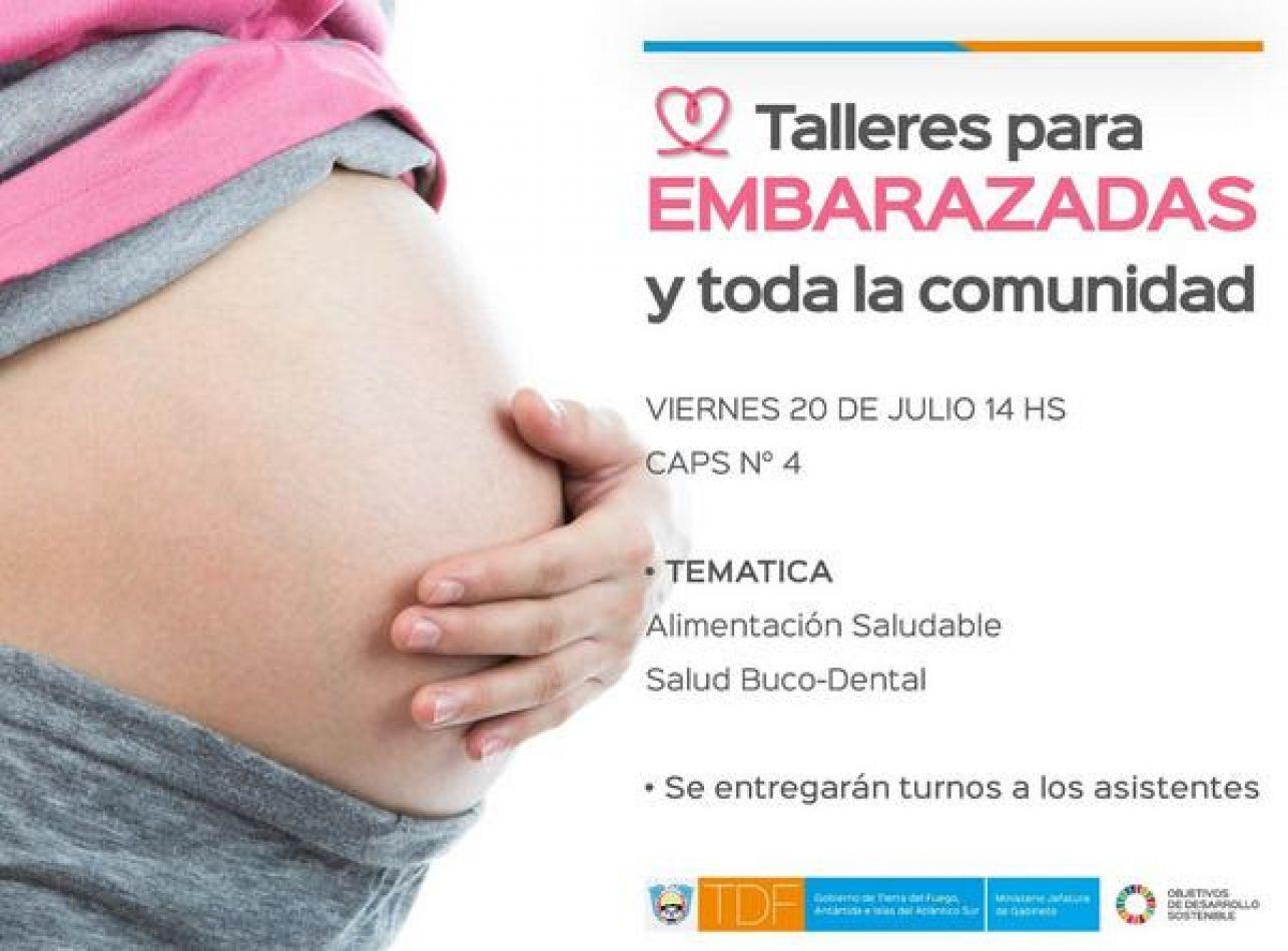 Taller para embarazadas y toda la comunidad