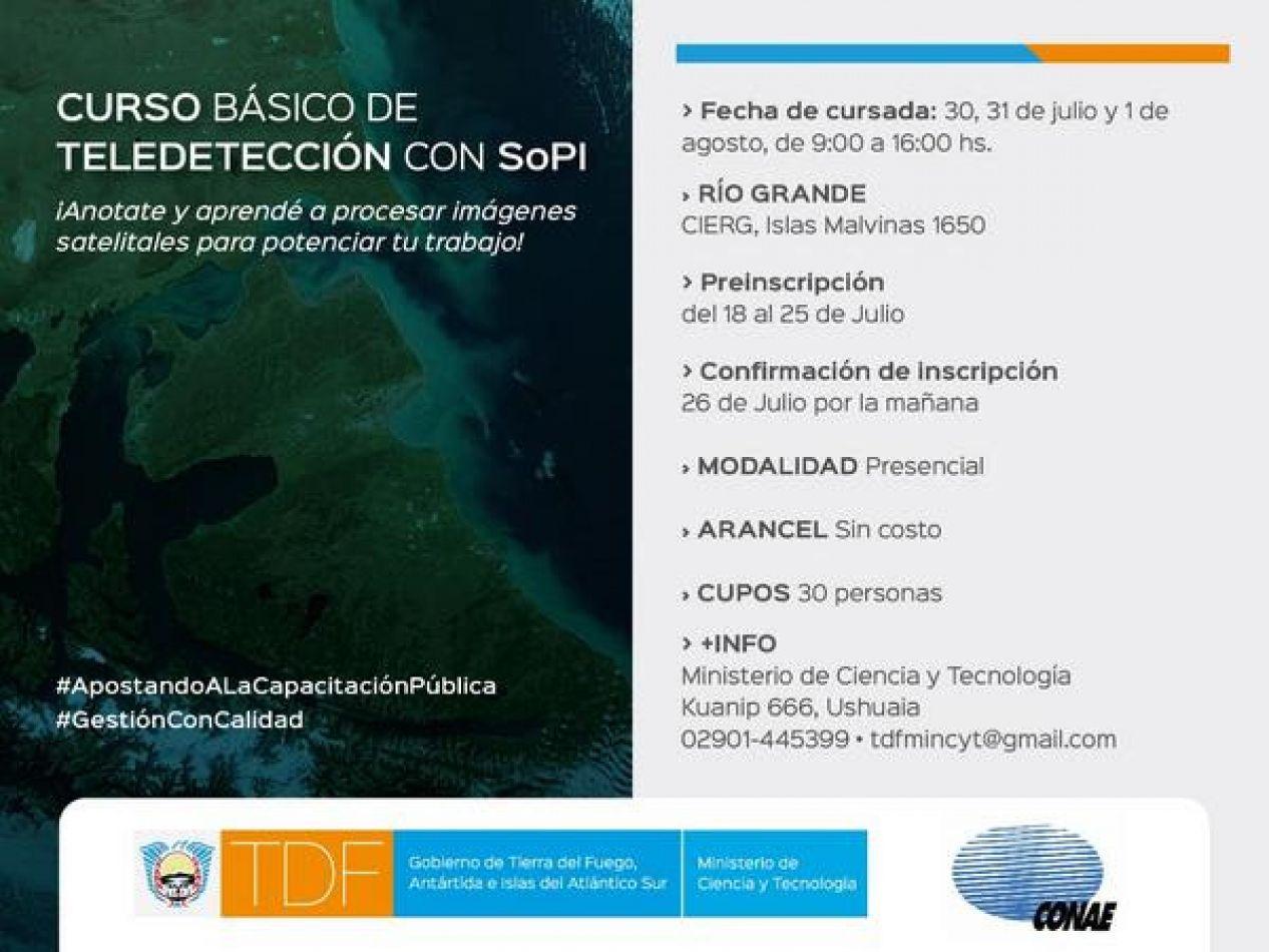 Inscripciones abiertas para la capacitación en Tecnología Satelital