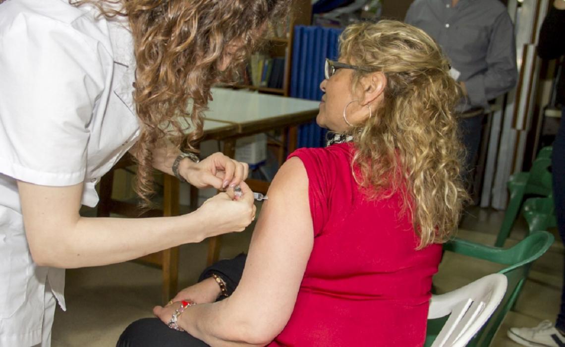 Lanzaron de manera oficial, la campaña de vacunación antigripal 2018
