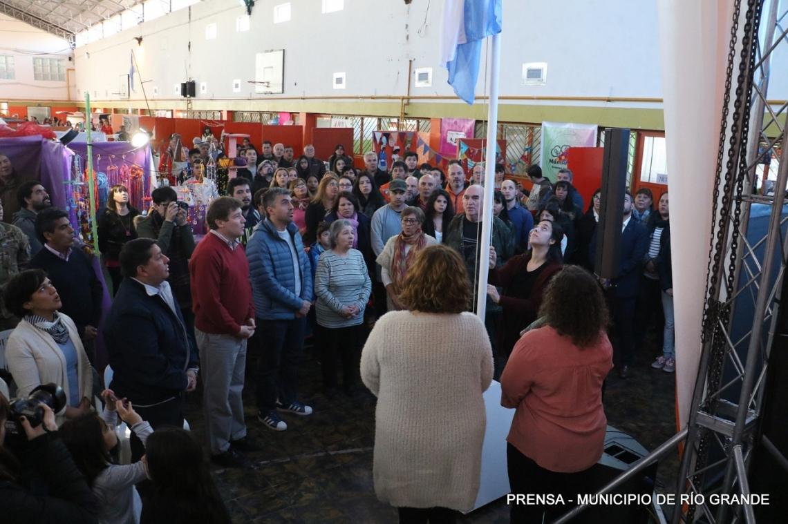 Se inauguró la XXXII Feria del Desafio de Producir en la Misión Salesiana