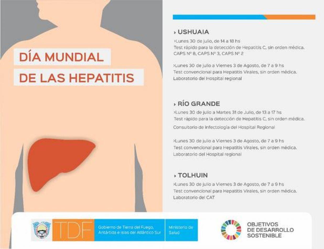 Día Mundial de las Hepatitis