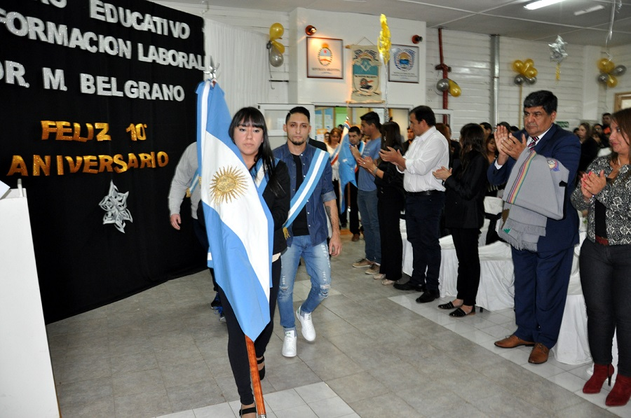 Arcando acompañó el décimo aniversario del 'Manuel Belgrano'