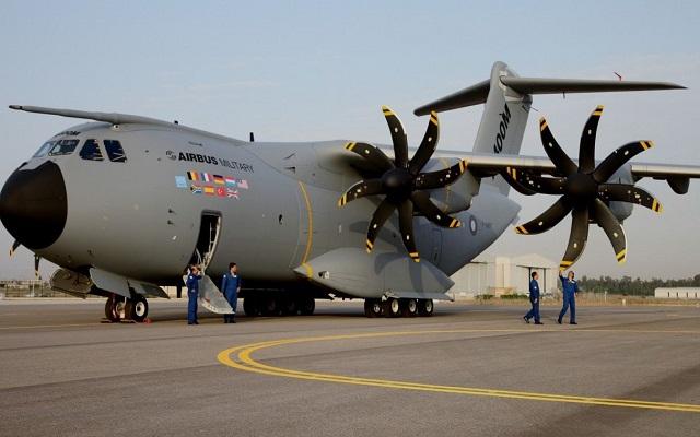 Inglaterra envió a Malvinas un avión de transporte militar de largo alcance