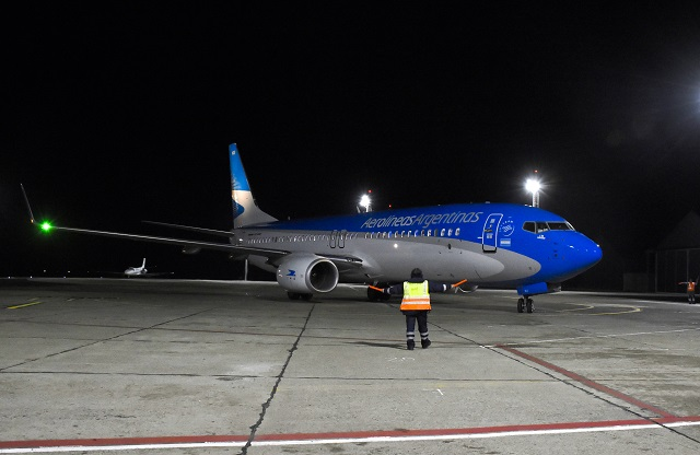 Para Aerolíneas los vuelos nocturnos son un beneficio para Río Grande